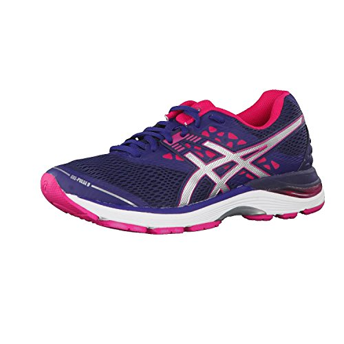 Asics Gel-Pulse 9, Zapatillas de Running para Mujer, Morado (Indigo Blue/Silver/Bright Rose 4993), 37 EU