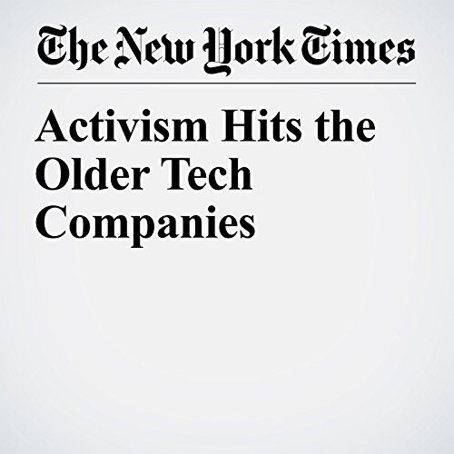 Activism Hits the Older Tech Companies copertina
