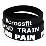 Extiff Fitness et Musculation 3 Bracelets No Pain No Gain #Crossfit Shut up and Train...