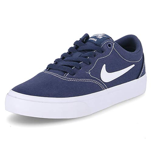 Nike Unisex Sb Charge Canvas Wanderschuh, Midnight Navy White, 38 EU