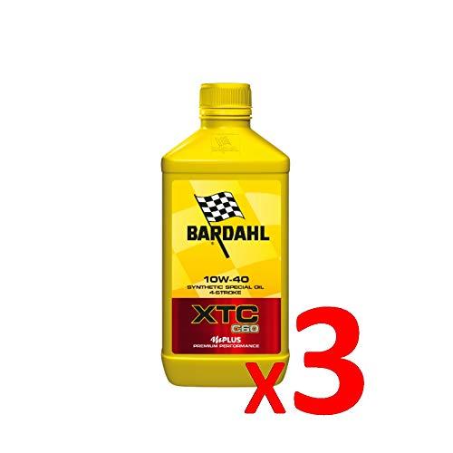 Bardahl Olio Moto XTC C60 10W-40 Sintetico 4 Tempi - 326140 (3)