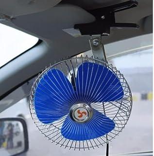 12 V TIMLand Auto Ventilator Beweglicher Leistungsf/ähiger Justierbarer Auto Selbstk/ühlungsluftventilator mit Klipp Sommer K/ühlungsluftumw/älzpumpe