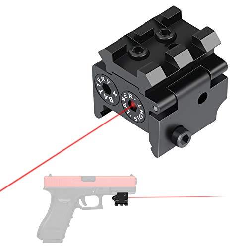 Feyachi Laser Sight/Red Dot Laser Sight/Pistol Laser Sight Rifle Laser Sight for Weaver or Picatinny Rail