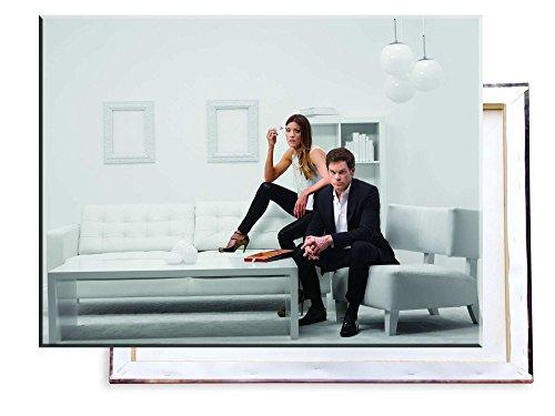 Unified Distribution Dexter - Michael Hall - 80x60 cm - Bilder & Kunstdrucke fertig auf Leinwand aufgespannt und in erstklassiger Druckqualität