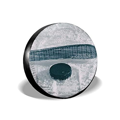 Cubiertas para Llantas, Protector Impermeable para Llantas De Repuesto,Cubierta Suave De La Rueda del Neumático del Ajuste A Prueba De Polvo Impermeable del Hockey sobre Hielo