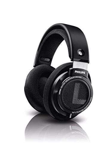 Philips SHP9500S 50mm Drivers HiFi Precision Stereo Over-Ear Headphones Open Back (Black)