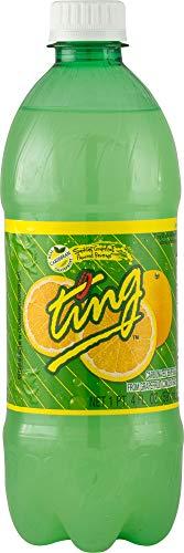 Ting Grapefruit Lightly Carbonated Soda, 20 Oz (Pack Of 24) Spectacular Sparkling Grapefruit, Premium Mixer Bursting with Real Grapefruit