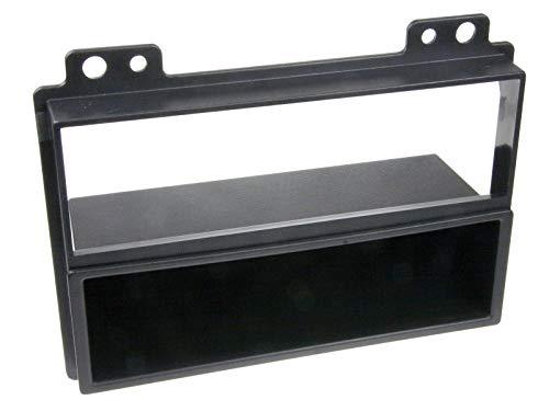 Baseline Façade d'autoradio pour Ford Fiesta/Fusion + Compartiment de Rangement 1 DIN