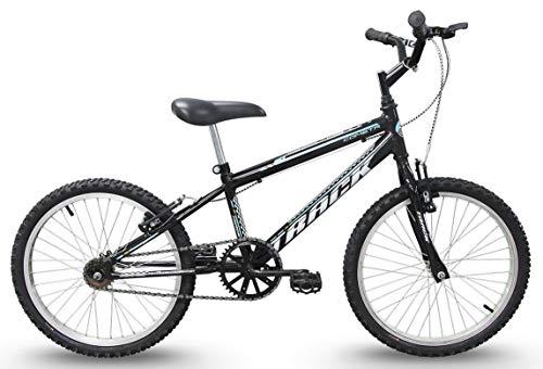 Bicicleta Aro 20 Cometa Preta sem Marcha, Track Bikes