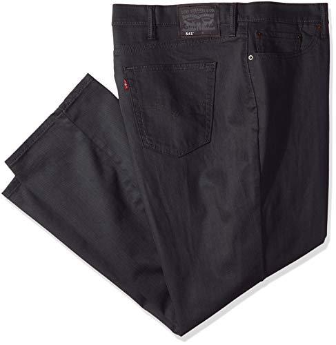 Levi's Big & Tall 541 Athletic Fit Jean Jeans, Stealth-Elasticizzato, 46W x 34L Uomo