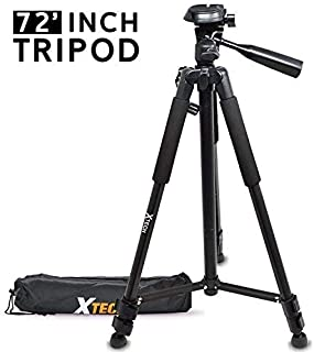 a99 II//Olympus E-M1 II /& E-PL8 Compatible with Sony a68 DURAGADGET Camera Tripod with Extendable Legs /& Ball-Tilt Head