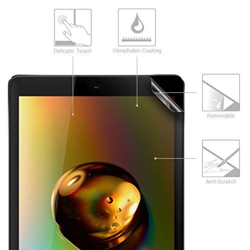 kwmobile 2X Folie kompatibel mit Apple iPad 9.7 (2017/2018) - Full Screen Tablet Schutzfolie entspiegelt