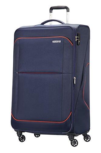 American Tourister - Sunbeam spinner 4 ruedas 55/20 equipaje de mano, azul (nordic blue), L (79cm-117L)