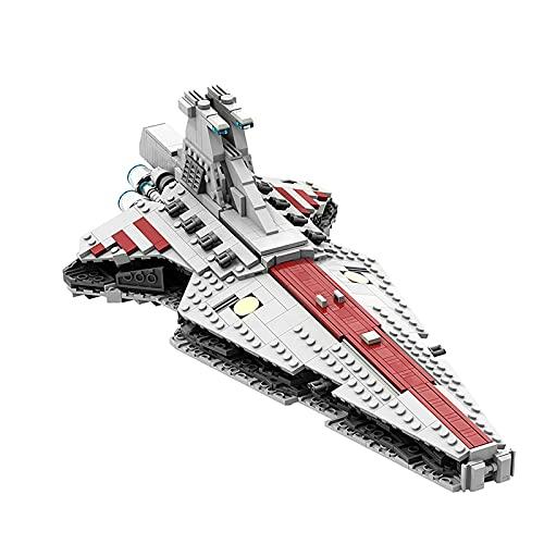 Venator Class Star Destroyer Destroyer Modello Architettonico Star Wars UCS Repubblica Attacco Attacco Cruiser Impressionante Raccolto E Visualizzato Building Building Blocks Idea Regalo,(830 piece)