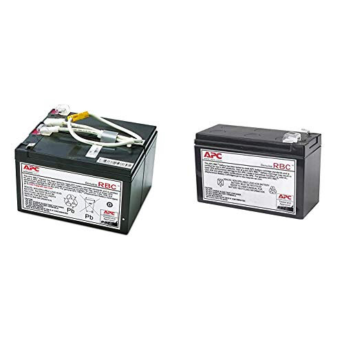 APC UPS Battery Replacement, APCRBC109, for APC UPS Models BR1500LCD...