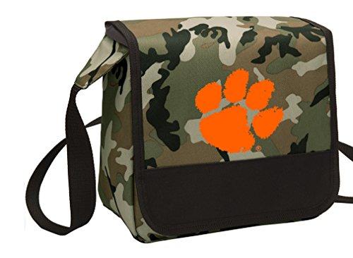 Camo Clemson University Lunch Bag Shoulder Clemson Tigers Lunch Boxes