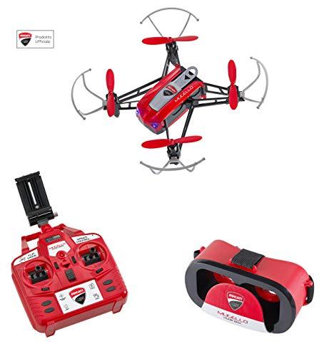 Ducati Corse- Mugello, quadricottero, Fotocamera, Drone FPV, Colore Rosso, DC0518B