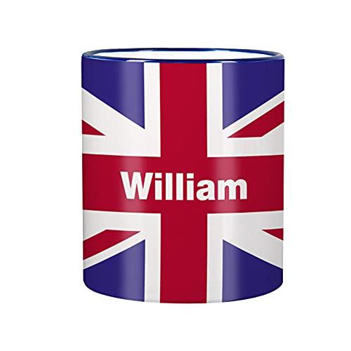 Herz und Heim® Tasse mit Wunschnamen & Flagge - Großbritannien -