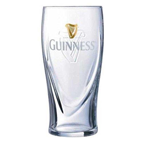 ARC Guinness - Vaso de Cerveza irlandés (12 Unidades, 29 Cl, 1/2 Pinta)