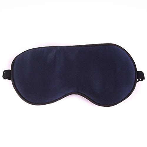 Baby Kinder Augenmaske Schlafbrille Schlafmaske Augenbinde Schlaf Brille Reise - Dunkelblau , 14 * 7cm