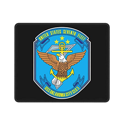 7th Seventh Fleet Navy USS Oklahoma City CLG-5 Mouse Pad Multi-Size Office Products Mousepad for Working