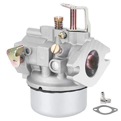 Semiter Ensamblaje de carburador, carburador de fácil instalación ampliamente Utilizado, Motor General de Aluminio, Bomba...