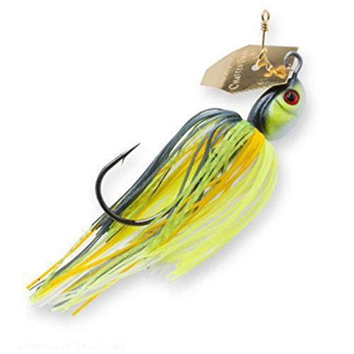 Z-Man Project Z Chatterbait Spinnerbaits, Chartreuse Sexy Shad, 1/2 oz