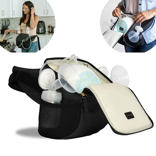 Portable Breast Pump Bag, Spectra S1 Bag. Belt Bag Pumping Bag - Pump-A-Porter - Idaho Jones | Hands Free Carrying Breastpump Bag Turns Electric Breast Pump Into Wearable Breast Pump