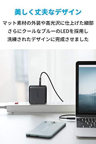 41rBt6Gk9ZL-Ankerの「PowerPort Speed 1 PD 60」を購入したのでレビュー!最大60W出力USB-C急速充電器