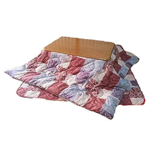 N/Z Equipo Diario Sala de Estar de Invierno Juego de Mesa calefactora Mesa Rectangular de futón Mesa de Tatami Multifuncional Dormir legible (Tamaño: 120 * 80 cm)