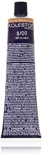 Wella Professionals Koleston Perfect Permanente CremeHaarfarbe, 8/ 00 hell Blond natur, 1er Pack (1 x 60 ml)