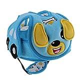 Toygogo Casco Protettivo Di Sicurezza Per Bambini Camminare Strisciante Copricapo Berretto Protettivo Cappello Bardatura Cappuccio Protettivo - Cane, Taglia unica