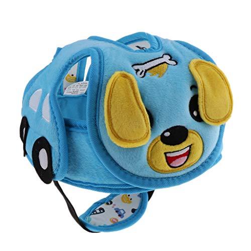 Toygogo Kleinkind Plüsch Schutzhelm Baby Kind, Das Kriechende Kopfschutz Hut Kopfschutzgeschirre Kappe Geht - Hund