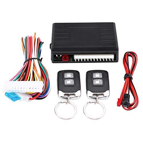 Akozon Keyless Entry System LB-405/L237 Universal-Kofferraumfreigabe Auto Keyless Entry System Türschloss Zentralverriegelungs-Fernbedienungssatz