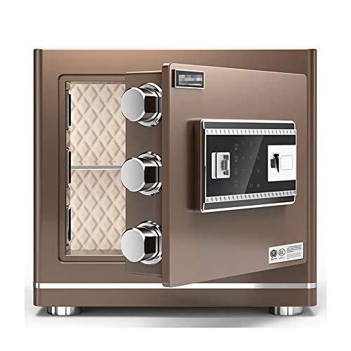 Caja Fuerte de Gabinete Caja fuerte con digitales de la seguridad electrónica de huellas dactilares Inicio del gabinete de seguridad con llaves for las cerraduras digitales for el dinero en efectivo P