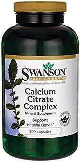 Swanson Calcium Citrate Complex 300 Capsules