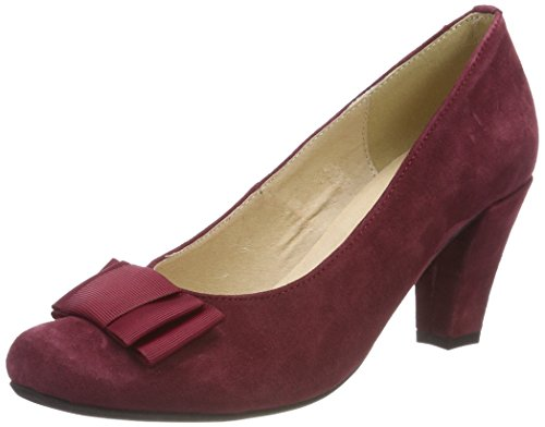 HIRSCHKOGEL Damen 1004504 Pumps, Rot (Bordo), 37 EU