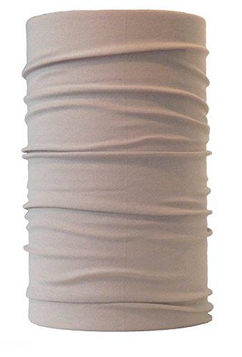 HeadLOOP Multifunktionstuch Schal Halstuch Kopftuch Microfaser (Beige/Sand)