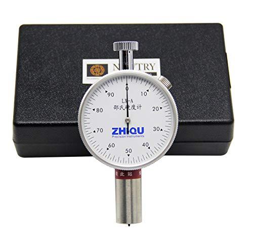 LONGJUAN-C LX-A Shore Hardness Tester/Durometer/Portable Rubber Plastic Hardness Pointer Tester