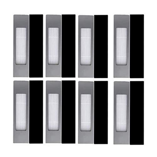 YDong Filter Ersatz für Deebot OZMO 920, 950, T5, T8 AIVI Roboter Vakuum Staubsauger, 8 Pack