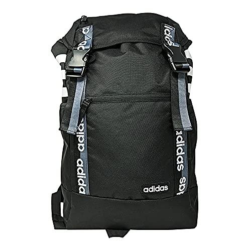 adidas Unisex Midvale Backpack, Black/White/Grey, One Size