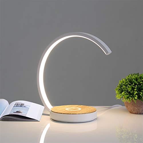 Iluminación Moderna Lámpara de Escritorio LED Lámparas de Mesa táctiles para Sala de Estar Dormitorio Dormitorio Teléfono de Escritorio Protección de Ojos Estudio Night Light Home Decor