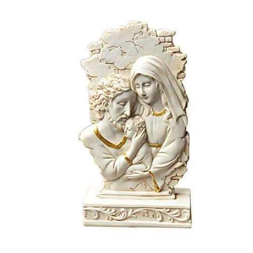 TTOOY Escultura de Estatua de Cristo, Escultura católica de Jesús, Figura de Nacimiento, Modelo de Resina, jardín, Exterior, hogar, religión, exhibición, Decoraciones Creativas