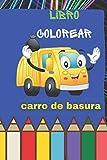 carro de basura libro colorear: 60 Vehículos - Libro de colorear para niños de...