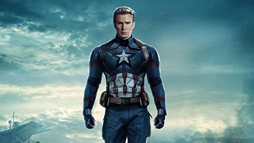 ZPDWT Puzzles 1000 piezas adultos Rompecabezas-Capitán América: El Soldado del Invierno-Educativo Intelectual Descomprimiendo Juguete Divertido Juego Familiar para niños Adultos 75*50cm