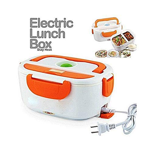 SMARTY FASHION Electric Heated Portable Food Warmer Lunch Box Electric Tiffin Box for Office and Electric Lunch Box for Office[Multi Color]