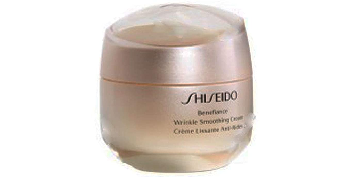 政権とティーム不満資生堂 Benefiance Wrinkle Smoothing Cream 50ml/1.7oz並行輸入品