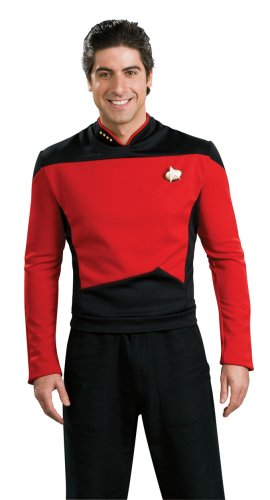 Rubie's Star Trek The Next Generation Deluxe Commander Picard Adult Costume Shirt, Large