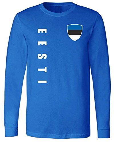 aprom Estland Langarm T-Shirt Trikot LS-Spa Royal Longsleeve (XL)