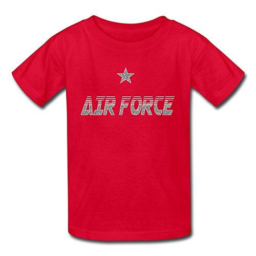 EroseV US Air Force Shirt for Infantile Boys'Boy Red